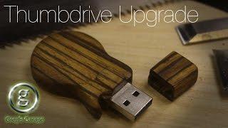 Make a Les Paul USB Thumb Drive