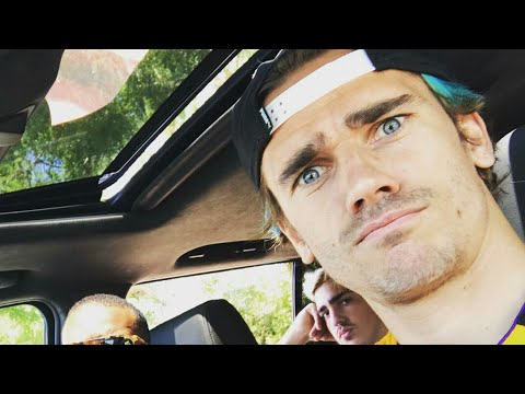 Antoine griezmann Funny moments 2017.