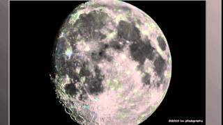 "La Luna antes de ""Super Moon"" del 29 de Agosto 2015"