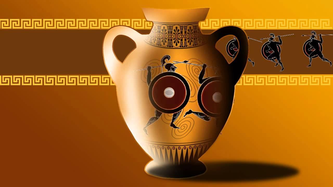 Decorazioni Dei Vasi Greci.Vaso Greco