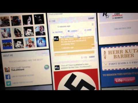 Rockstargames censor Nazi over illuminati