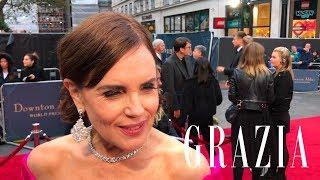Elizabeth McGovern calls Highclere Castle her home | Downton Abbey Premiere
