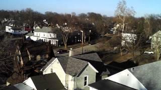 Syma x5c-1 drone footage, Burlington Iowa