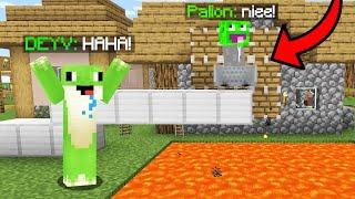 Zrobiłem EPICKI PRANK na PALIONIE w Minecraft!