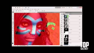 Top Secret Photoshop  tutorials : Cerat a nave part 01.02