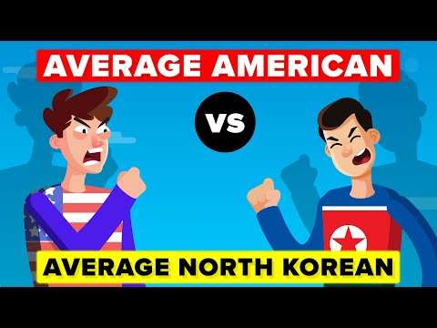 Average American Vs Average North Korean