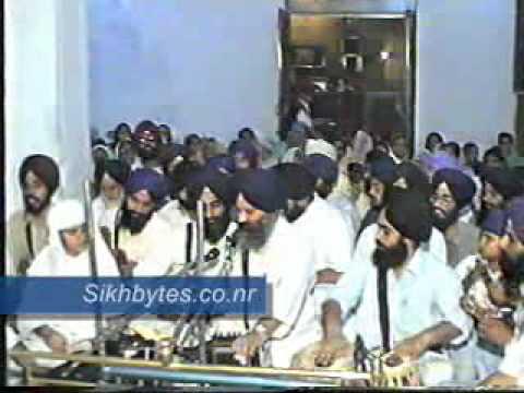 Bhai Tejinderpal Singh Ji (Doola Veerji) Delhi 1996 Part 1 Video