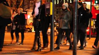 London City Streets at Night