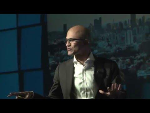 Think Next 2016- Satya Nadella, CEO, Microsoft