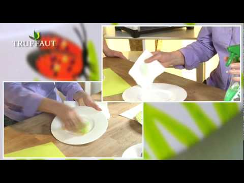 comment faire de la peinture sur une assiette en porcelaine jardinerie truffaut tv youtube. Black Bedroom Furniture Sets. Home Design Ideas