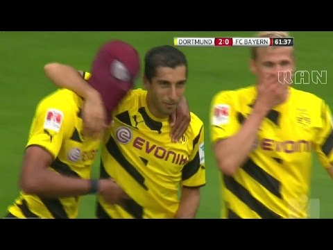 Borussia Dortmund vs Bayern München 2-0 All Goals & Highlights HD SUPERCUP 2014