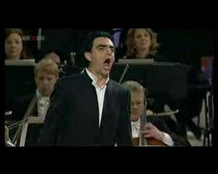Rolando Villazón, recondita armonia, Tosca