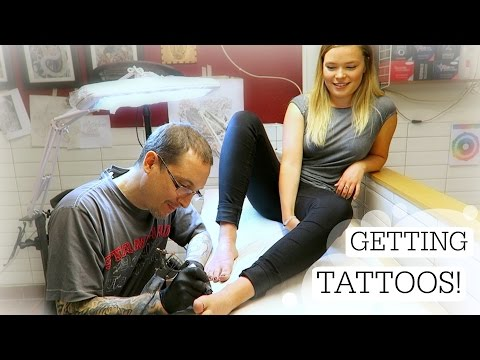 TATTOO: GETTING MY FIRST TATTOO