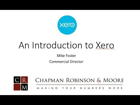 An Introduction to Xero, cloud accounting software
