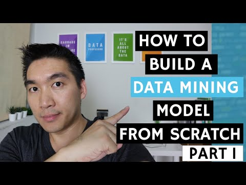 WEKA Tutorial #1.1 - How To Build A Data Mining Model From Scratch