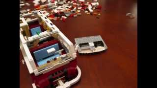 Building Lego 10220 Vw T1 Camper Van In Time Lapse Stop Motion