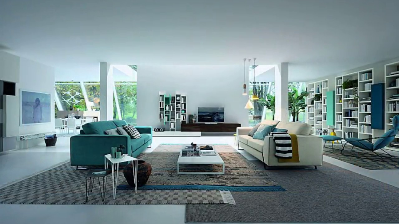 Latest Turquoise Sofa Designs - Contemporary and ...