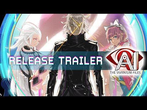 AI: THE SOMNIUM FILES Release Trailer   PS4, Nintendo Switch, Steam (PC)