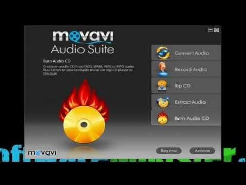 Movavi Audio Suite I Musik Software I SoftwareMonster.com