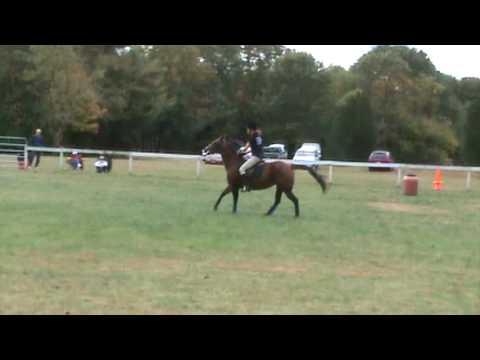 RRDC Gymkhana - barrel race - Dancer and Kristen