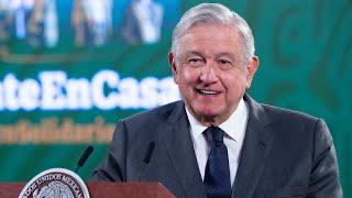 Plan de vacunación a maestros de Campeche. Conferencia presidente AMLO