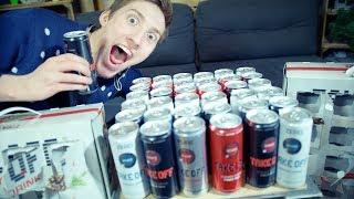 Der Größte Fehler Meines Lebens...  Energy Drink Adventskalender (Gute Ernährung + Praktikant!)
