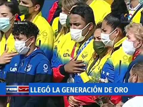 Atletas olímpicos de Venezuela retornan a su país tras espectacular actuación en Tokio 2020: resumen