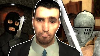 THERE'S A KILLER IN THE MANSION! - Garry's Mod Gameplay - Gmod Murder Gamemode