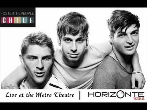 FOSTER THE PEOPLE CHILE Presenta: Foster The People: Live at the Metro Theatre