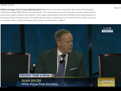 Panel Discusses Media Coverage of the Trump Administration