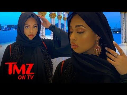 Jordyn Woods Slammed For Wearing Headscarf In Abu Dhabi | TMZ