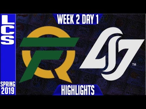 FLY vs CLG Highlights   LCS Spring 2019 Week 2 Day 1   FlyQuest vs counter Logic Gaming