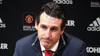 Manchester United 2-2 Arsenal - Unai Emery Full Post Match Press Conference - Premier League
