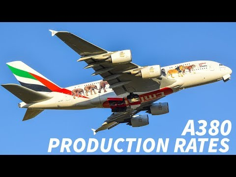 SLOW A380 PRODUCTION Rates RESULT in JOB LOSSES
