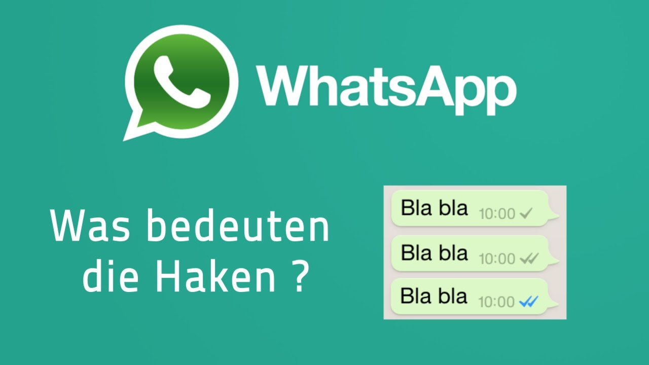 whatsapp blaue haken graue haken