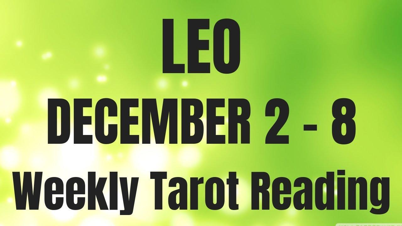 tarot reading leo december 2019