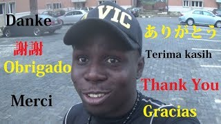 Thanks For 5,000 Subscribers in Different Languages