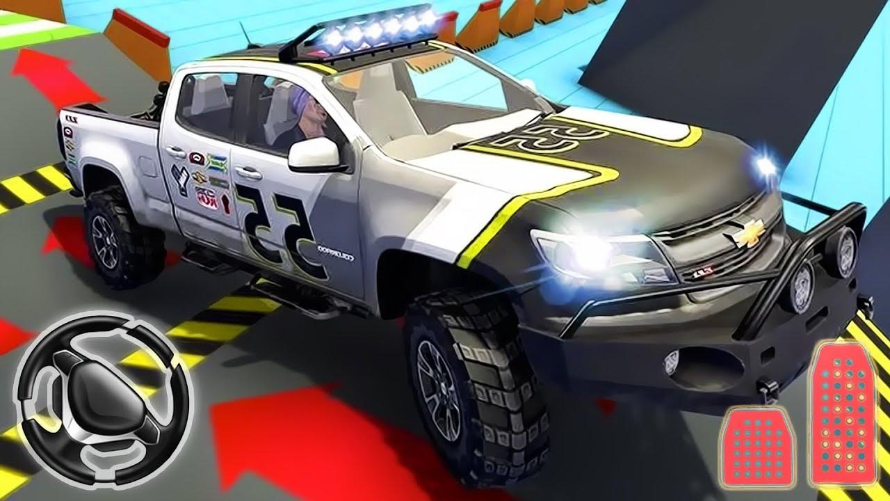 Monster Car vs Trucks Offroad Trials - 4x4 Big Truck ...