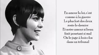 Bravo Tu As Gagné - Mireille Mathieu - (Lyrics)