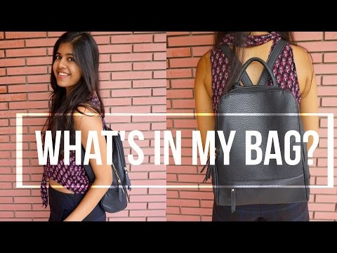 The College Edit: What's in my Bag?