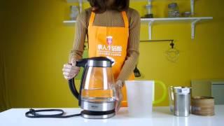 美国Aroma数字电热水壶AWK-165DI 1.7L——华人生活馆