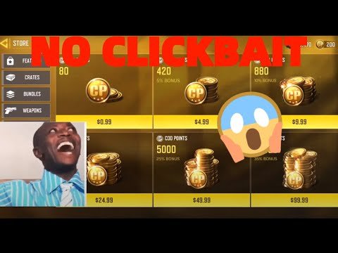 HOW TO GET FREE CP in COD MOBILE USING GOOGLE PLAY POINTS (100% working with proof)