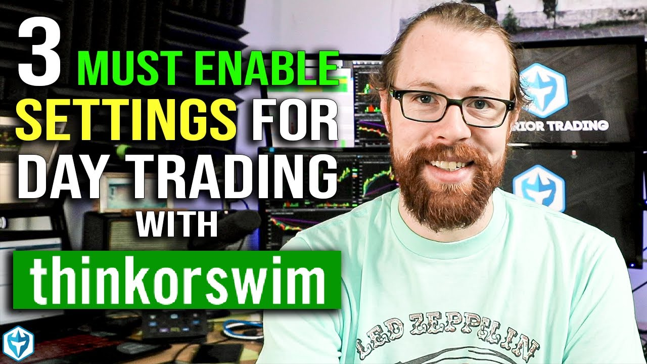 3 Must Enable Settings For Day Trading With Td Ameritrade Youtube