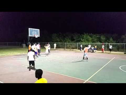 Anguilla youth basketball pink vs orange campus A 2nd half
