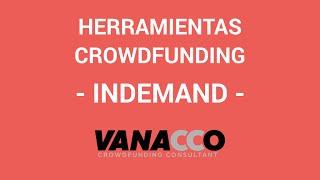 Tutorial: ¿Cómo detectar herramientas para tu crowdfunding? (InDemand)
