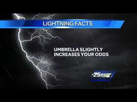The Odds of Getting Hit By Lightning