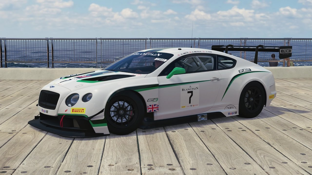 Forza Horizon 3   2014 Bentley #7 M Sport Bentley Continental GT3   YouTube