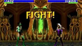 Ultimate Mortal Kombat 3 (Genesis) - Longplay as Jade