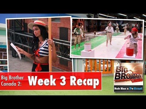 Big Brother Canada Week 3 Recap LIVE