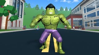 HOW TO BE THE HULK IN ROBLOXIAN HIGHSCHOOL!!